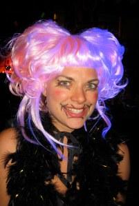 My costumer for Mardi Gras