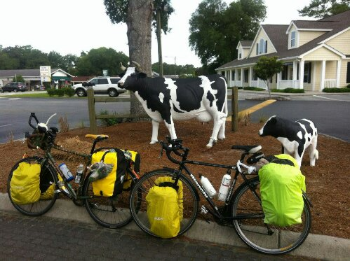 Missing Two Touring Bicycles Nomadic Cycling