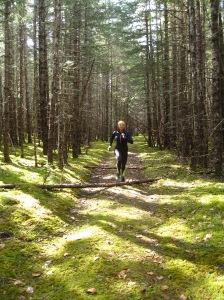 running in Dyea