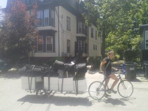 Moving by Bike