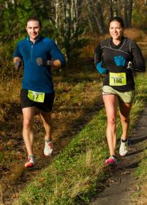 Dallas and I ran together for the entirety of the LOCO marathon in Newmarket, NH this October