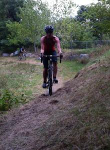 My first (unofficial) cyclocross race