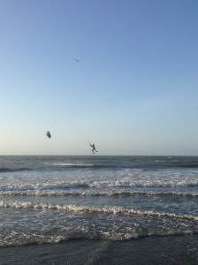 Some of the best professional kitesurfers in Colombia come from here. It was mesmerizing to watch all of them.